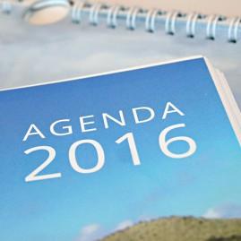 Kalenders en agenda's Wadden